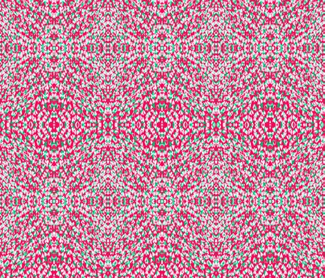 Fun Love in Pink fabric by claudiaowen on Spoonflower - custom fabric