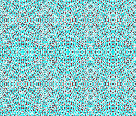 Fun love in Blue  fabric by claudiaowen on Spoonflower - custom fabric