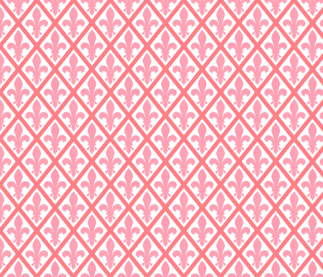 rose_fleur_ikat fabric by amybethunephotography on Spoonflower - custom fabric