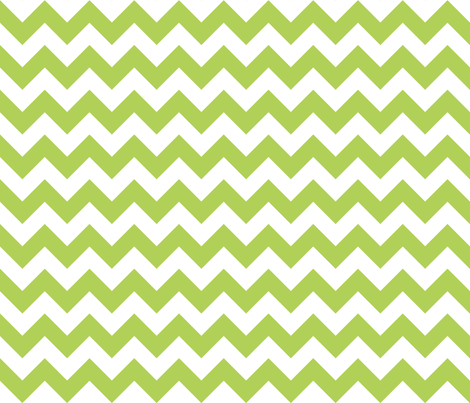 Zig Zag Chevron Apple Green fabric by littlerhodydesign on Spoonflower - custom fabric