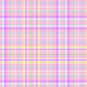 Pink Easter Plaid