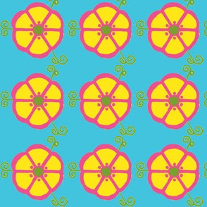 Whimsy Lemon Flower