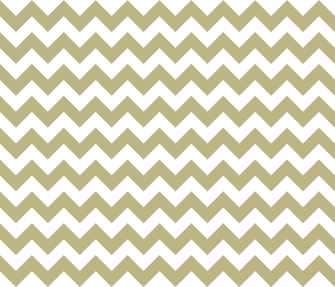 Zig Zag Chevron Khaki fabric by littlerhodydesign on Spoonflower - custom fabric