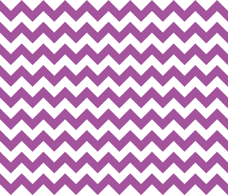 Zig Zag Chevron Plum fabric by littlerhodydesign on Spoonflower - custom fabric