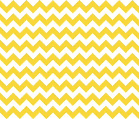 Zig Zag Chevron Sunshine fabric by littlerhodydesign on Spoonflower - custom fabric