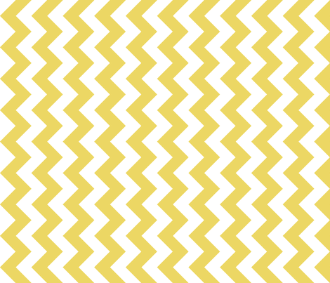 Chevron Railroaded Sunshine fabric by littlerhodydesign on Spoonflower - custom fabric