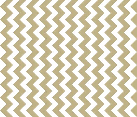 Chevron Railroaded Khaki fabric by littlerhodydesign on Spoonflower - custom fabric