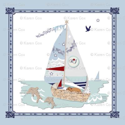 RJ's Puppy Sailboats storybook