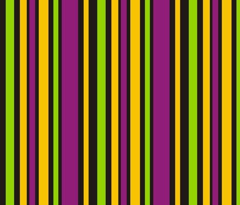Mardi Gras Fat Tuesday Black Stripes fabric by smuk on Spoonflower - custom fabric