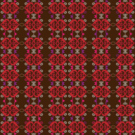 Brown Vintage fabric by lilola on Spoonflower - custom fabric