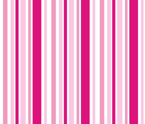 Pink Stripes fabric by smuk on Spoonflower - custom fabric