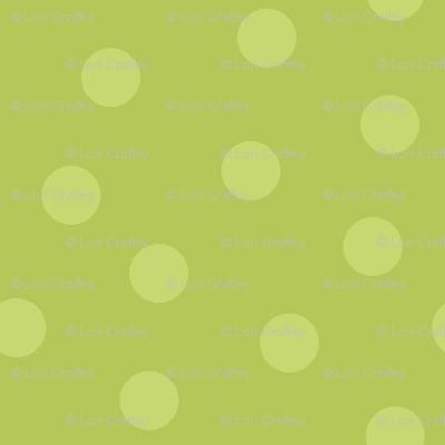 Tonal Mini Dot Apple Green