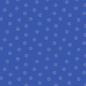 Tonal Mini Dot Blue