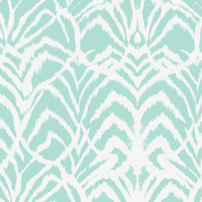 Wild Ikat in Mint