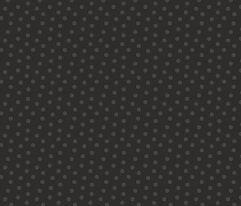 Tonal Mini Dot Coal fabric by littlerhodydesign on Spoonflower - custom fabric