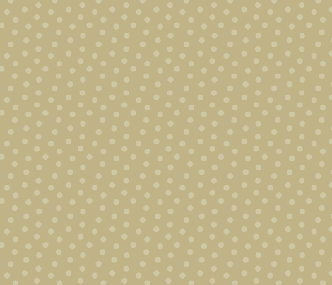 Tonal Mini Dot Khaki fabric by littlerhodydesign on Spoonflower - custom fabric