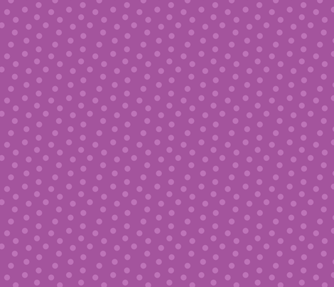 Tonal Mini Dot Plum fabric by littlerhodydesign on Spoonflower - custom fabric