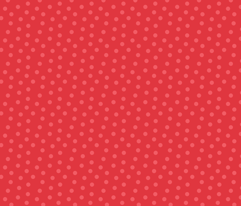 Tonal Mini Dot Red fabric by littlerhodydesign on Spoonflower - custom fabric