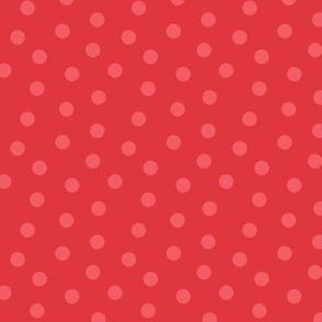 Tonal Mini Dot Red
