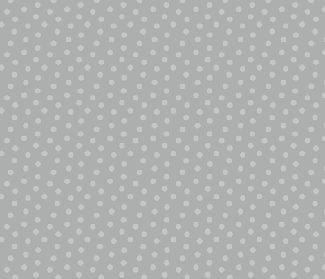 Tonal Mini Dot Silver fabric by littlerhodydesign on Spoonflower - custom fabric