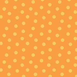 Tonal Mini Dot Tangerine