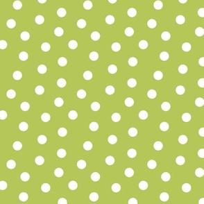 Mini Dot Apple Green