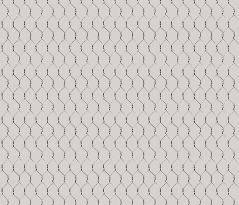 Chicken Wire 1 fabric by jabiroo on Spoonflower - custom fabric