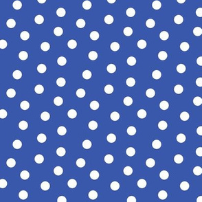Mini Dot Blue