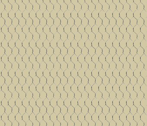 Chicken Wire 2 fabric by jabiroo on Spoonflower - custom fabric