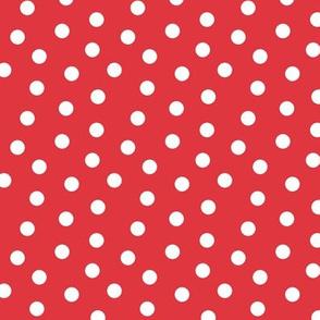 Mini Dot Red