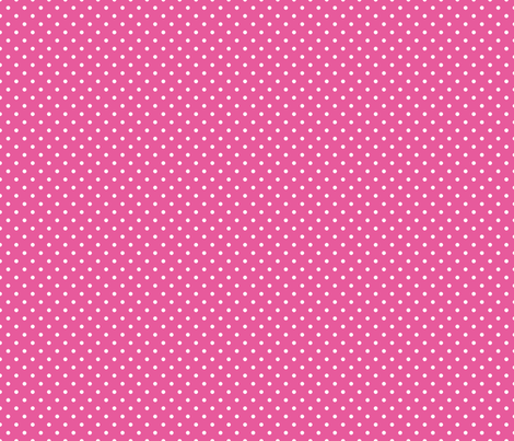 Pin Dot Bubble Gum fabric by littlerhodydesign on Spoonflower - custom fabric