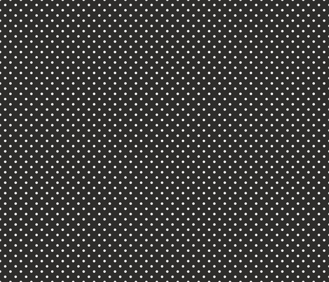 Pin Dot Coal fabric by littlerhodydesign on Spoonflower - custom fabric