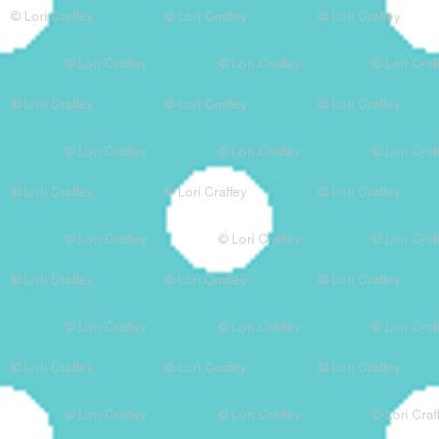 Pin Dot Teal