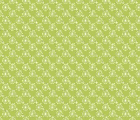 Big Wheel Apple fabric by littlerhodydesign on Spoonflower - custom fabric