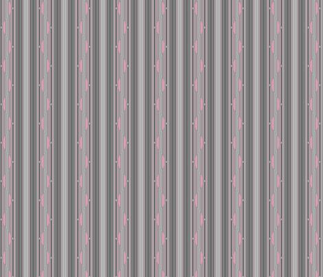 Pink on Grey Zigzag Stripe © Gingezel™ 2013 fabric by gingezel on Spoonflower - custom fabric