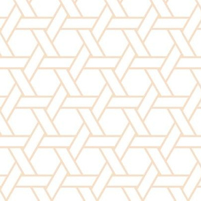 kagome outline in pearl