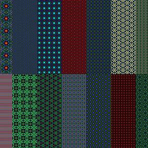 Shandon Beauties main patterns sampler