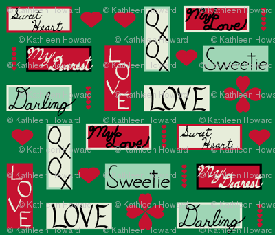 love_letter_yard_colored_hearts_green