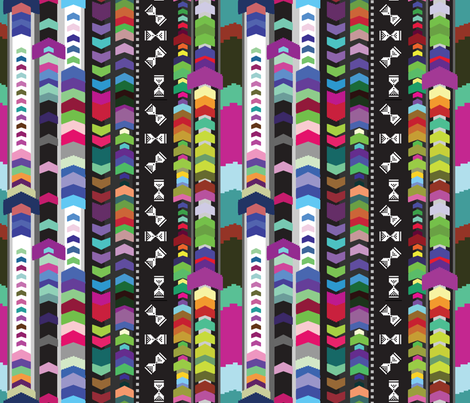 power up fabric by motyka on Spoonflower - custom fabric