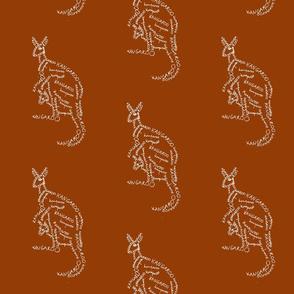kangaroo calligram 2