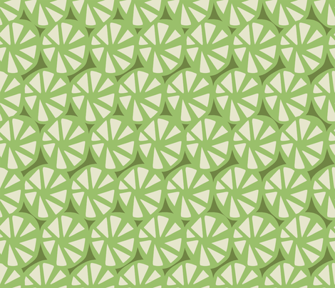 wheels green fabric by chicca_besso on Spoonflower - custom fabric