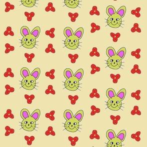 Rabbit smiles