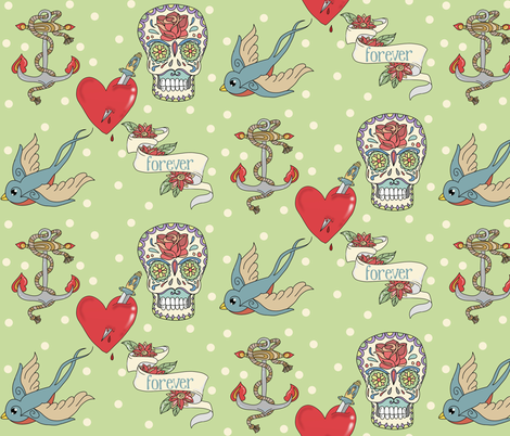 sampler fabric by littlemusings on Spoonflower - custom fabric
