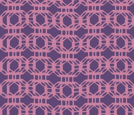 liquid_grid_violet02 fabric by chicca_besso on Spoonflower - custom fabric