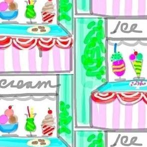 Summer Ice Cream Shop