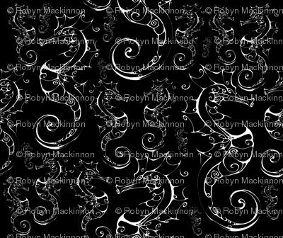 Inkblot Seahorse Herd in the Black Sea