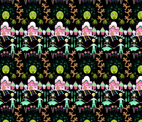 Hansel and Gretel fabric by spicysteweddemon on Spoonflower - custom fabric