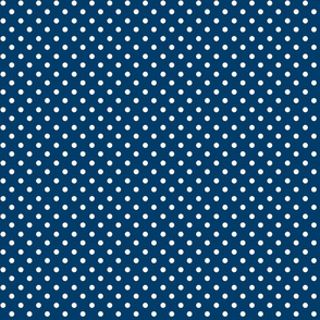 Oh Suzani Neutral Navy Dot