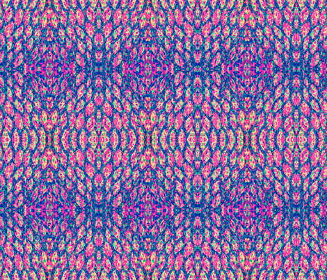 Cells Pink fabric by claudiaowen on Spoonflower - custom fabric