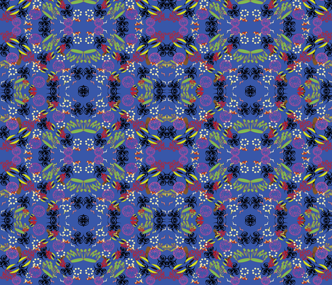 FTCarnival fabric by cilade on Spoonflower - custom fabric